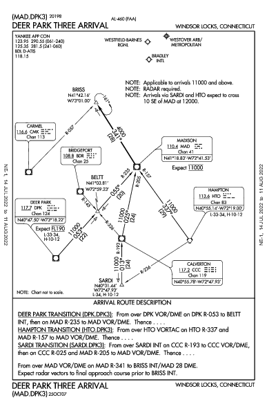 Westfield-Barnes Rgnl Westfield/Springfield, MA (KBAF): DEER PARK THREE (STAR)