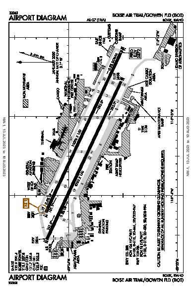 Gowen Field Boise, ID (KBOI): AIRPORT DIAGRAM (APD)
