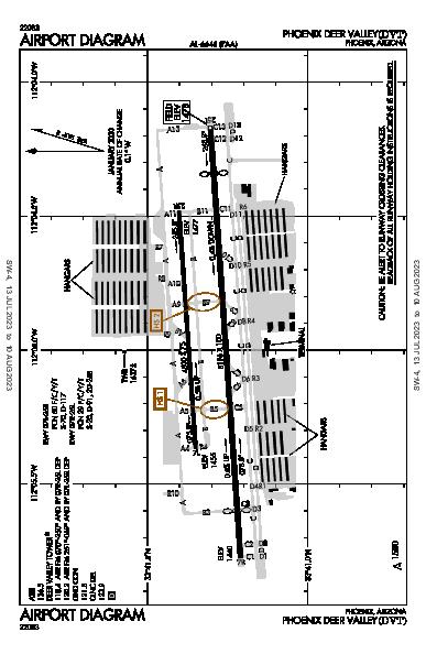 Phoenix Deer Valley Phoenix, AZ (KDVT): AIRPORT DIAGRAM (APD)