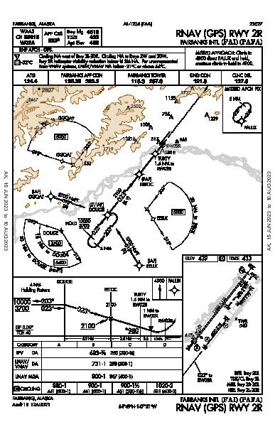 Fairbanks Intl Fairbanks, AK (PAFA): RNAV (GPS) RWY 02R (IAP)