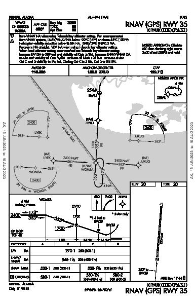 Kipnuk Kipnuk, AK (PAKI): RNAV (GPS) RWY 35 (IAP)