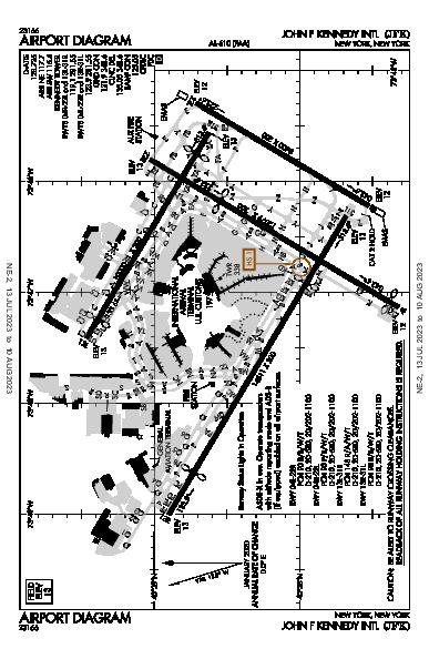 John F Kennedy Intl Airport (New York, NY): KJFK Airport Diagram
