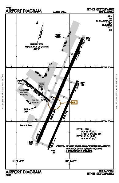 Bethel Airport (Bethel, AK): PABE Airport Diagram