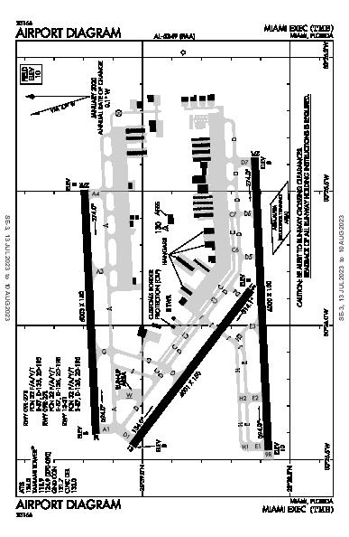 Miami Exec Miami, FL (KTMB): AIRPORT DIAGRAM (APD)
