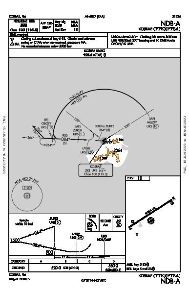 Kosrae Kosrae,  (PTSA): NDB-A (IAP)