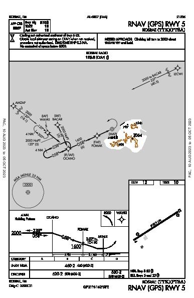 Kosrae Kosrae,  (PTSA): RNAV (GPS) RWY 05 (IAP)